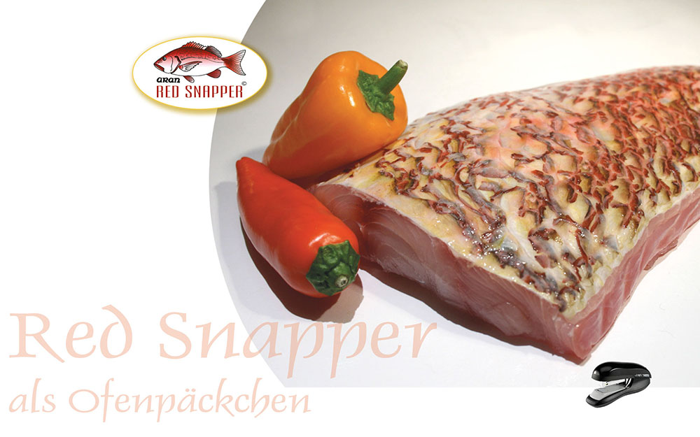 red snapper ofenpack
